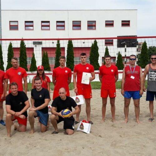 I Edycja Turnieju Piłki Siatkowej Plażowej o Nagrodę Komendanta Powiatowego PSP w Inowrocławiu